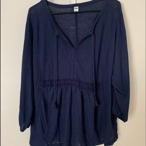 Boho Old Navy Top